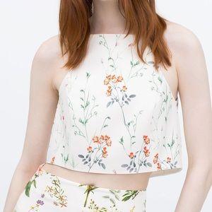 Zara floral crop
